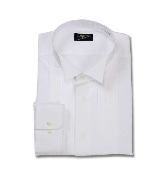 大きいサイズ メンズ マンチェス コレクションウイングカラー長袖シャツ キングサイズ 3L/4L/5L/6L