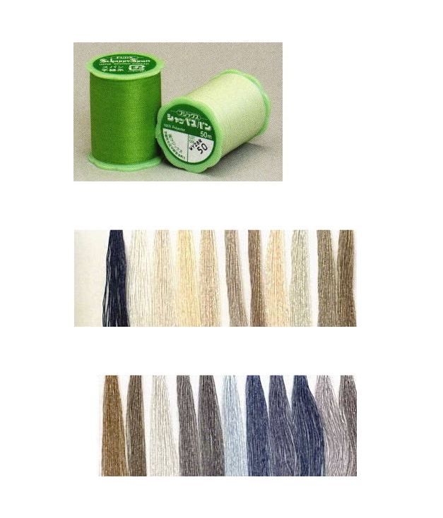 ※ゆうパケットNG 300円クーポン配布中 フジックスFUJIX 永遠の定番モデル 買収 シャッペスパン手縫い糸-8 C1-2 50m