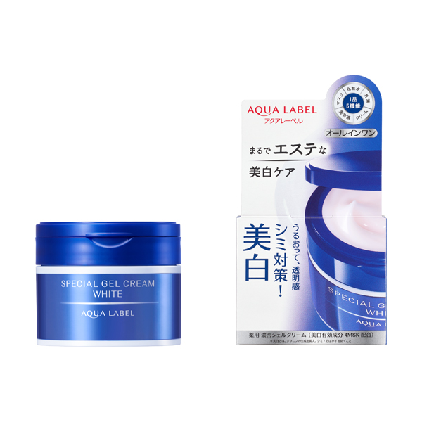 komahan: Aqua label special gel cream A (white) unregulated drug ...
