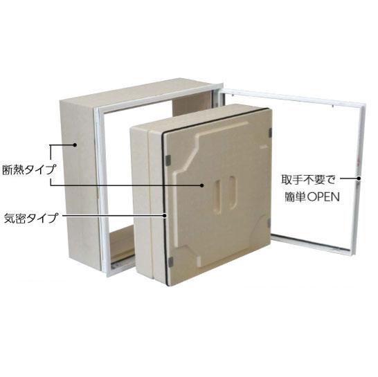 ダイケン WXDW250 壁点検口 50cm 気密・断熱タイプ 横開き ホワイト
