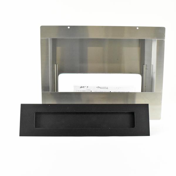 ハッピー金属工業 ステンレスポスト ポストぐち 受箱セット 632-B-670-U