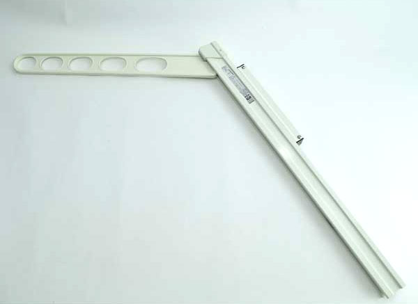 物干し 屋外 ホスクリーン 腰壁用 スライド 上下式 ホワイト GP-55-W 川口技研 2本単位
