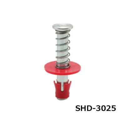 ミカド インサート 3分 スプリングハンガーSHD 赤 デッキ 断熱用 200個 SHD-3025-RED