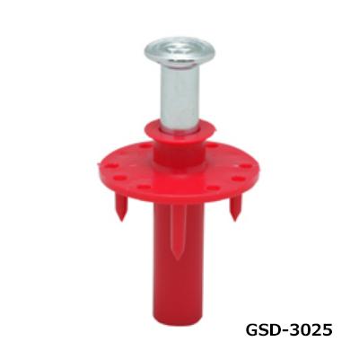 ミカド インサート 3分 スライダートGSD 赤 合板 断熱用 250個 GSD-3025-RED