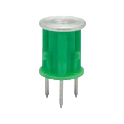 ミカド インサート 4分 バリアス 緑 合板用 250個 V-4045-GRN