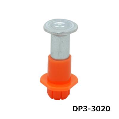 ミカド インサート 3分 デッキパンチ 橙 デッキ用 500個 DP3-3020-ORG
