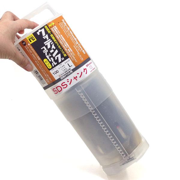 ウッディングコア SDSプラスシャンクセット 刃先径100mm 有効長130mm PCWS100R ミヤナガ