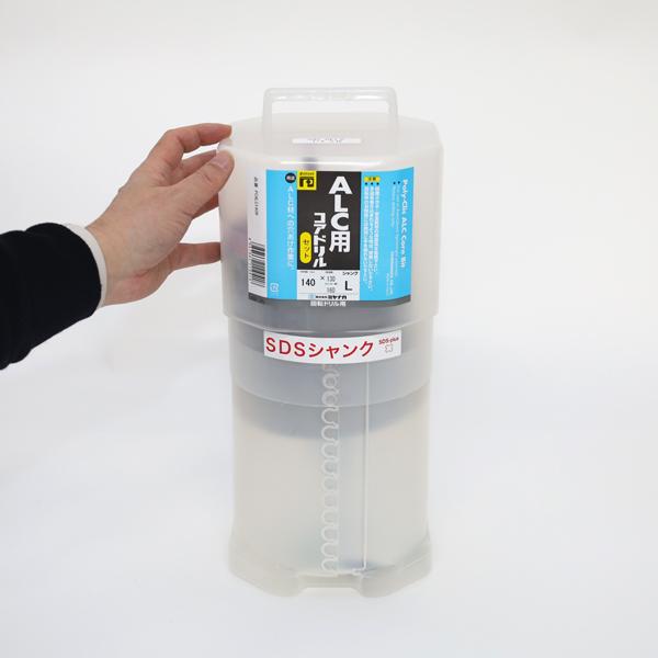 ALCコアSDSプラス軸セット Φ140mm PCALC140R ミヤナガ
