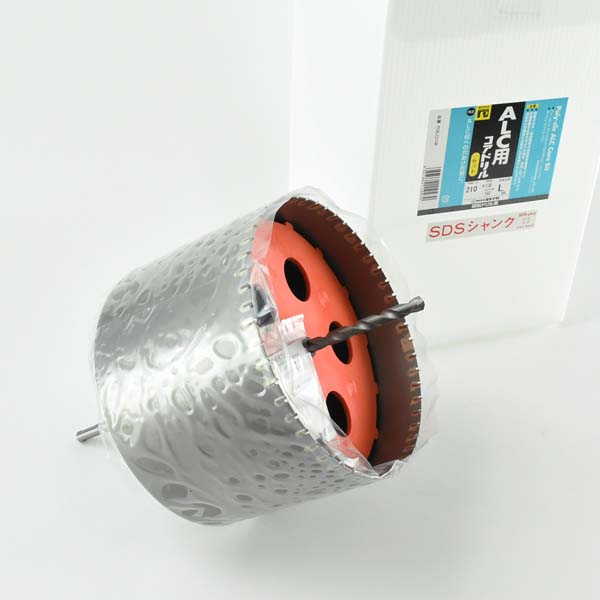 ALCコアSDSプラス軸セット Φ210mm PCALC210R ミヤナガ