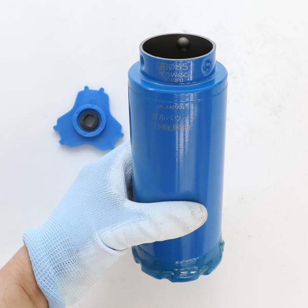 ミヤナガ 買い物 ガルバウッドコアドリル 65 ガルバ用 コアドリル 安い 激安 プチプラ 高品質 有効長130mm ガルバウッドコア 刃先径65mm PCGW65C カッターのみ
