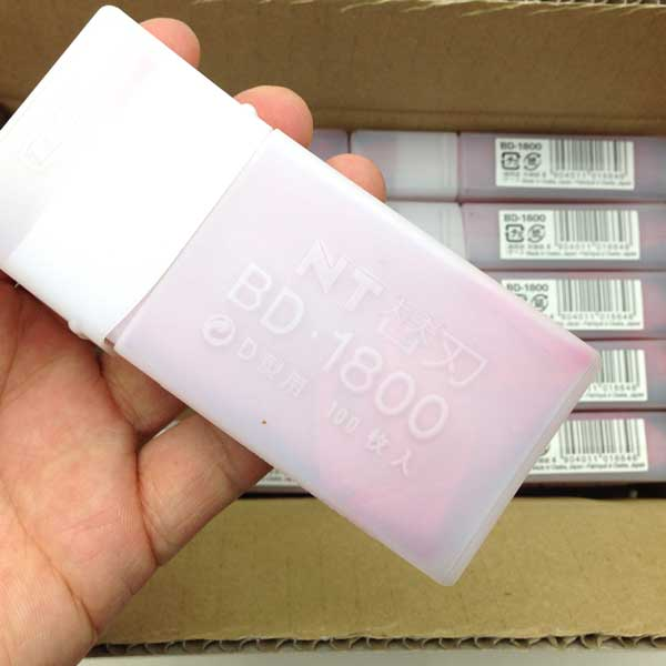 BD-1800 BD型替刃 100枚パック【10個単位】