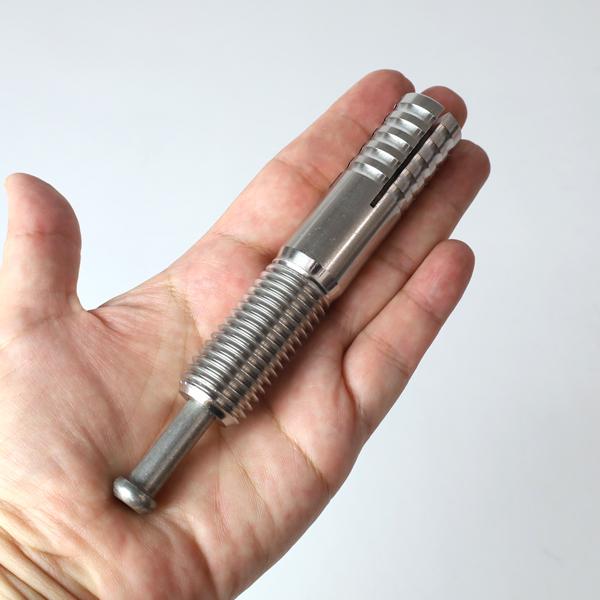 ステンレス オールアンカー ねじ径M20 全長100mm SC-2010 サンコーテクノ【10本単位】