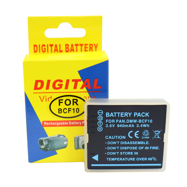 メール便送料無料 パナソニック用 永遠の定番 Panasonic用 DMW-BCF10E対応デジカメ互換バッテリー 在庫限り 互換バッテリー DMW-BCF10E対応 デジタルカメラ用 日本全国 送料無料