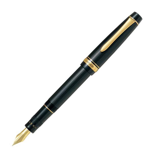 【送料無料】ペン先の弾力を自在に調整できる革新的な万年筆!! PILOT パイロット ジャスタス95 万年筆 FJ-3MR-NB ネットブラック