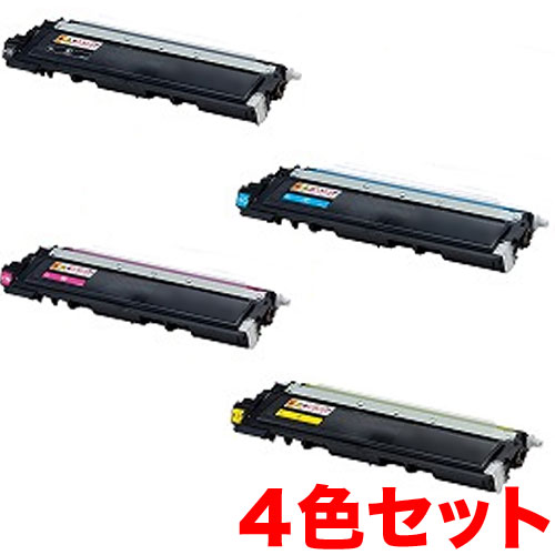 ブラザー用 TN-290BK リサイクルトナー 4色セット HL-3040CN MFC-9120CN DCP-9010CN【メール便不可】【送料無料】【代引不可】【メーカー直送品】