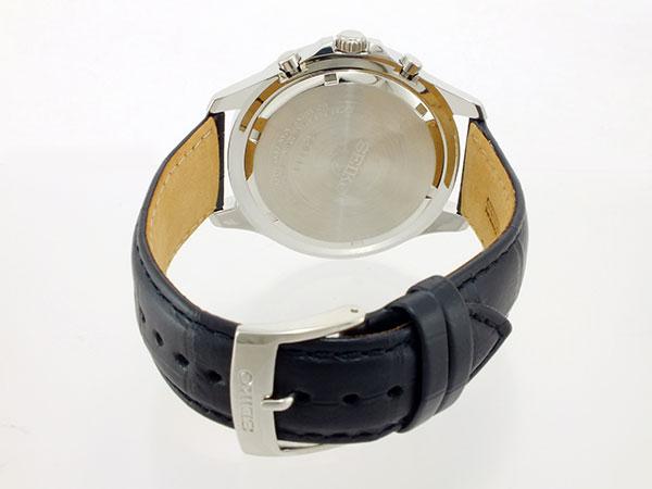 精工SEIKO计时仪人手表SNDE29P1黑色×黑色