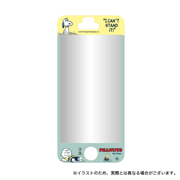 支持花生复古iPhone5/iPhone5s/iPhone5c的无气泡银幕防护具B型