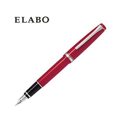 PILOT パイロット エラボー ELABO 万年筆 樹脂軸 FE-18SR-R レッド