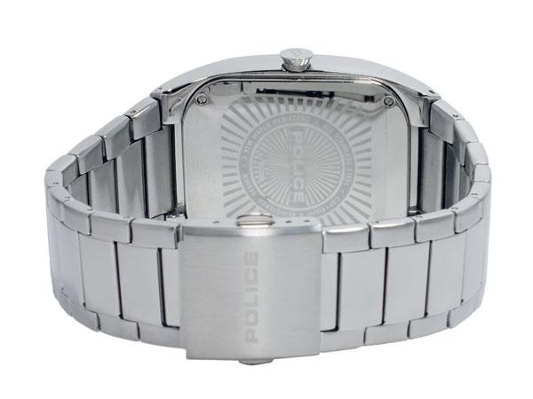 警察POLICE石英人手表PL13755JS-02MA黑色×银子