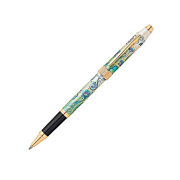【取り寄せ品】CROSS クロス Botanica ボタニカ 複合筆記具 セレクチップローラーボール グリーン AT0645-1 【メール便不可】【送料無料】