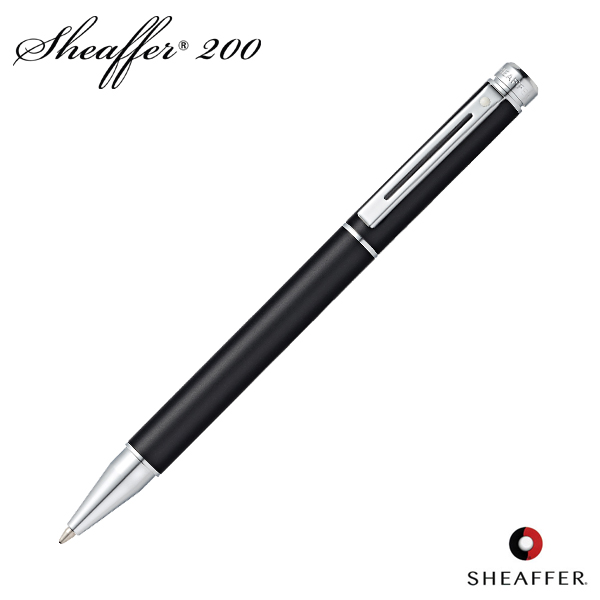 Great Schaefer SHEAFFER Ballpoint Pen 200 Matt Metallic Black SGC9152BP