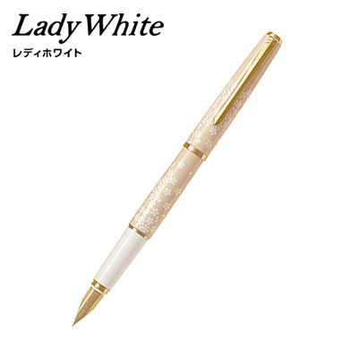 【取り寄せ品】PILOT パイロット Lady White (レディホワイト) サクラ F(細字)
