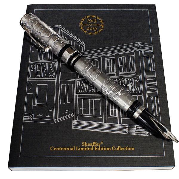 【処分セール】SHEAFFER シェーファー Centennial 100周年限定モデル Starling Silver スターリングシルバー CEN9213PN-M 【メール便不可】【送料無料】【あす楽対応】