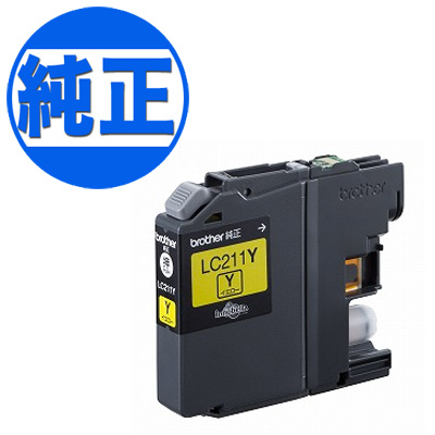 兄弟工业有限公司 (哥哥) LC211 墨盒黄色 LC211Y