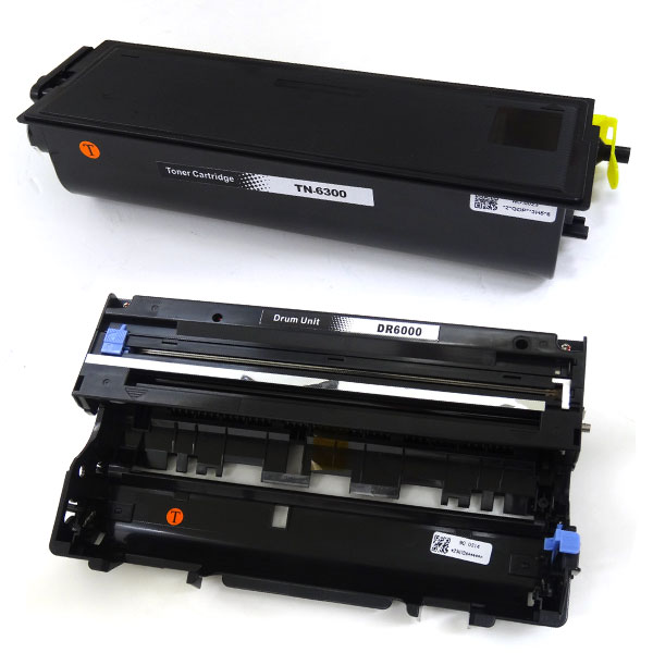 Genuine Brother DR-6000 Drum Unit For Use With TN-6300 /& TN-6600 Toner Cartridge