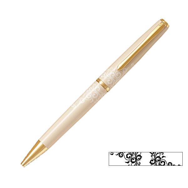 【取り寄せ品】PILOT パイロット Lady White (レディホワイト) ボールペン かずら BD-13SR-KAZ