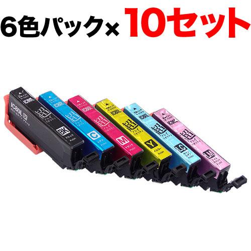 IC6CL80L エプソン用 IC80 互換インク 超ハイクオリティ 増量 6色×10セット 増量6色×10セット