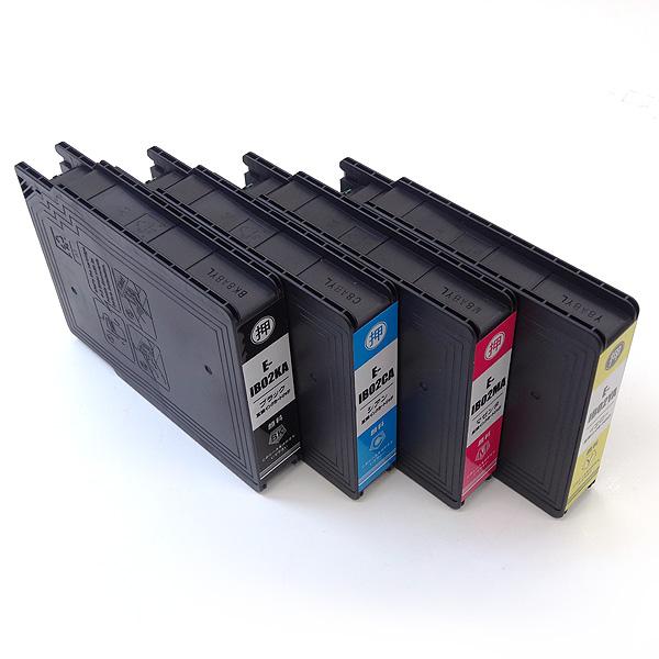 IB02 エプソン用 互換インクカートリッジ 顔料 4色セット 顔料4色セット