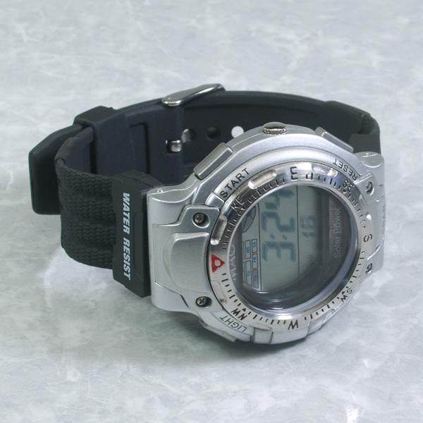 丸万MAOW太阳能男女两用手表MD105-01(sb)