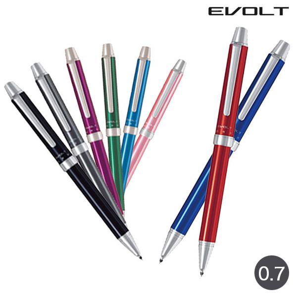 与え メール便可 あなたの手元を美しく飾る多機能筆記具 2+1EVOLT エボルト PILOT パイロット EVOLT 全10色 全8色から選択 2+1 激安 BTHE-1SR