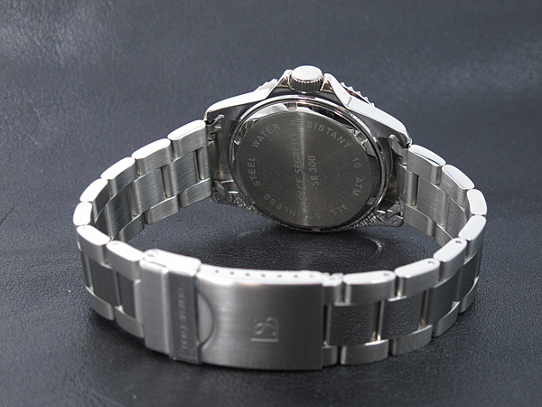 Dolce SEG rate DOLCE SEGRETO watch sb300b black / silver