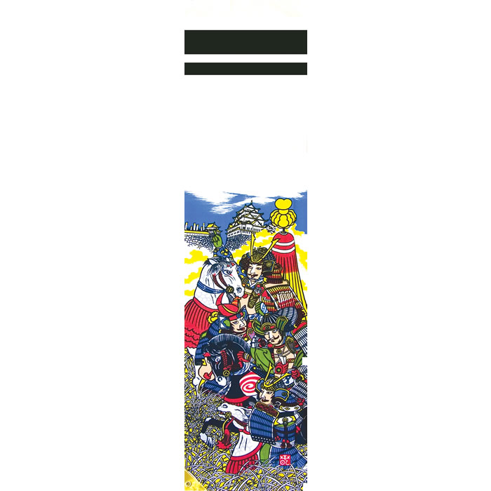 武者絵のぼり 節句幟 「太閤秀吉 ミニ節句幟 1.8mベランダセット」 ●徳永鯉のぼり【こいのぼり