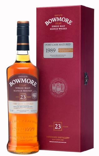 アイラモルトウイスキー ボウモア1989 23年 ポートワイン樽熟成