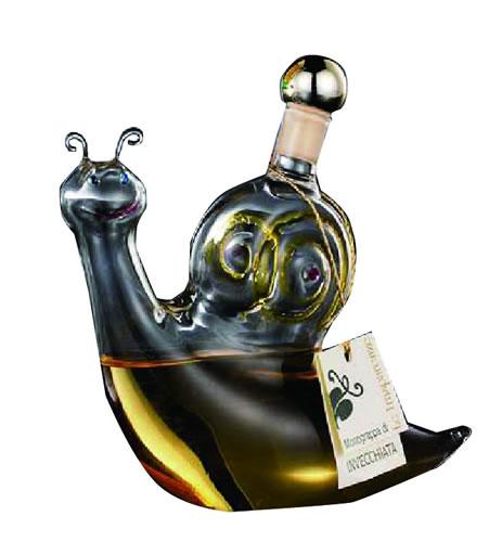 グラッパ【ベネチアングラス かたつむりボトル】