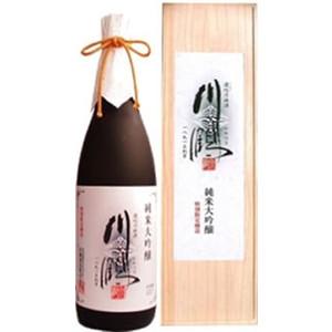 川鶴 純米大吟醸 木箱入り1800ml
