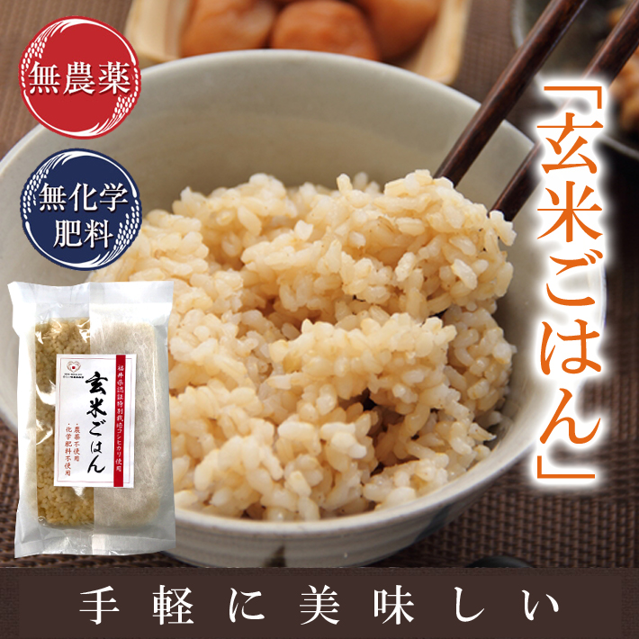 Komean: 200 G Of Use Of Brown Rice Rice Pack Retort