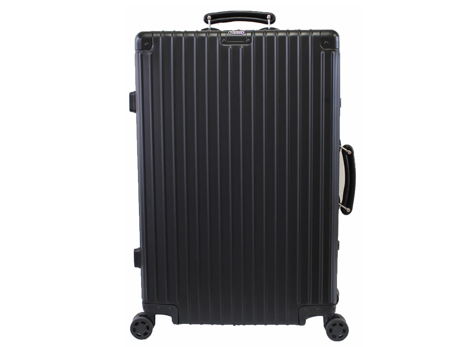 アルミ製スーツケース キャリーケース Mサイズ 65L 2年保証付 TSAロック Wウィルキャスター TRIPSHOW トリップショー 送料無料