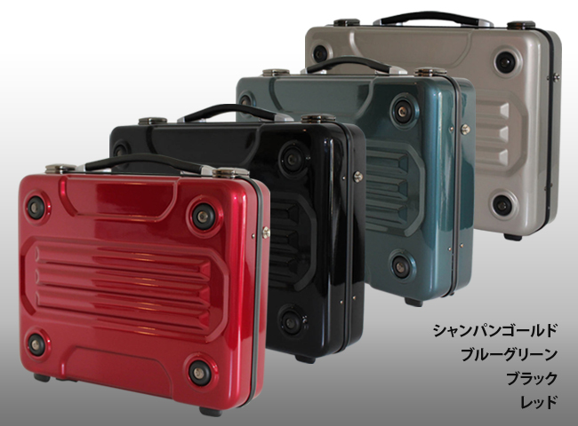 【ビジネスバッグ】アタッシュケース 軽量 PCケース a4 b4 a3 ブラック レッド オシャレ ポリカーボネード アルミ 大容量 バッグ 出張 無料ラッピング パソコンバッグ 122008