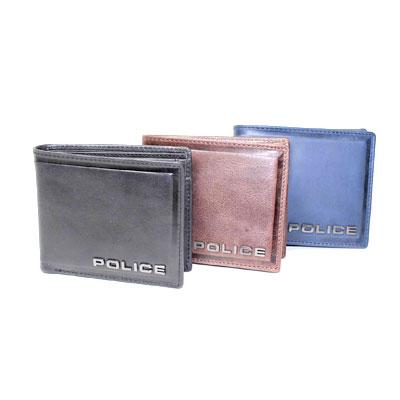 【ギフト】【あす楽】【送料無料】POLICE ポリス財布 折財布メンズ 財布メンズ イタリアブランド 財布牛革 カード入れ付財布 小銭入れ付財布 高級財布 男の財布 EXILE ギフト好適品 751964