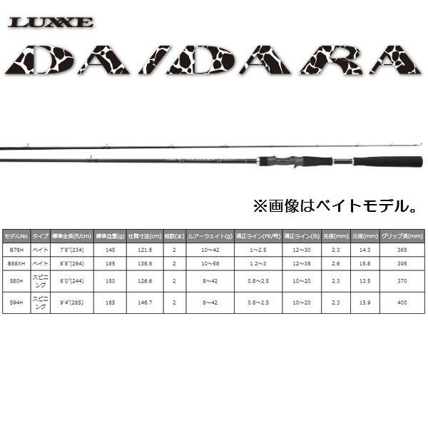【お取り寄せ商品】がまかつ LUXXE DAIDARA(ラグゼ ダイダラ) S80H
