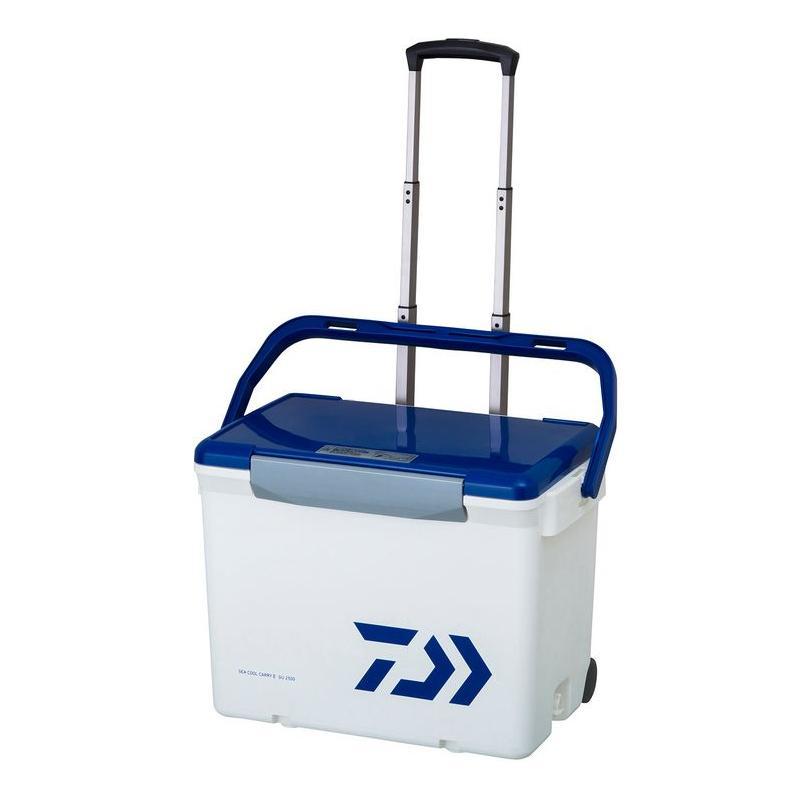 ダイワ シークールキャリーII GU2500 ホワイト/ブルー