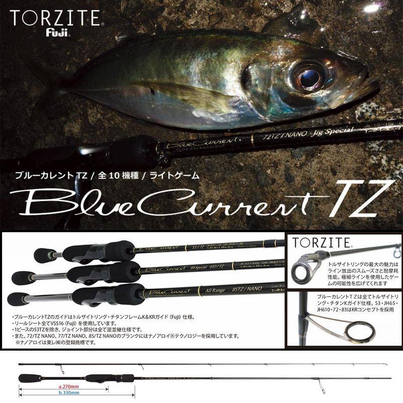 ヤマガブランクス ブルーカレントTZ JH-Special 610/TZ