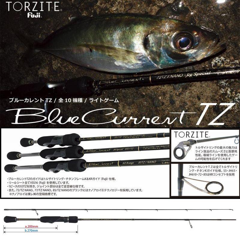 ヤマガブランクス ブルーカレントTZ JH-Special 58/TZ