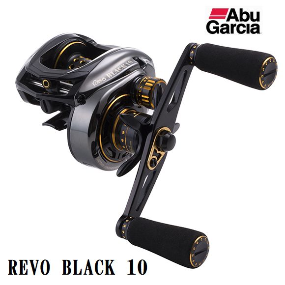 AbuGarcia(アブ・ガルシア) REVO BLACK10-L(レボ ブラック10-L) 左ハンドル