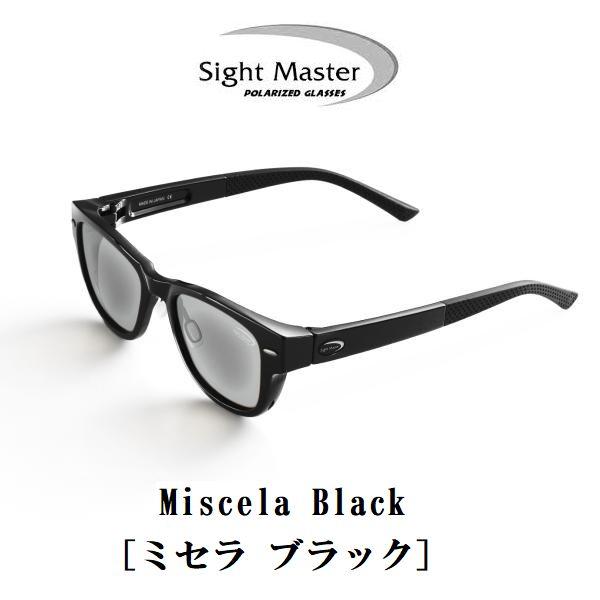 サイトマスター ミセラ ブラック ライトグレー・シルバーミラー