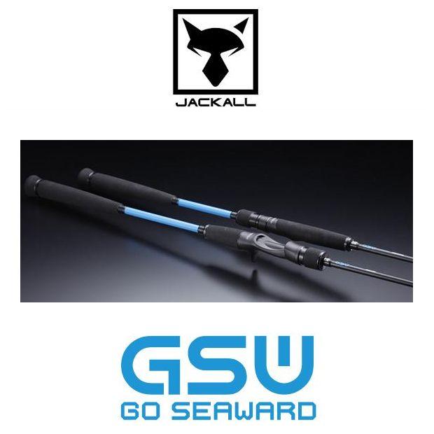 ジャッカル GO SEAWARD S68XSUL-ST【2ピーススピニングロッド】